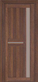 Двери Терминус Модель 106 NanoFLEX миндаль со стеклом
