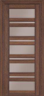 Межкомнатные двери Модель 107 Термінус мигдаль зі склом