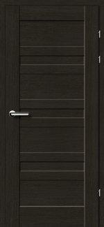 Межкомнатные двери Двери 19.1 Брама черный дуб глухое