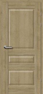 Двери 19.50 дуб натуральный глухое