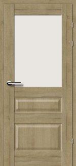 Двери 19.51 дуб натуральный стекло Сатин