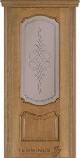 Межкомнатные двери Модель 41 Каро Термінус дуб даймонд зі склом 5