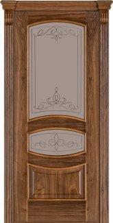 Двери Модель 50 Терминус орех американский со стеклом