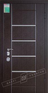 Входные двери Аккорд Интер Украины  12 мм(полотно),16 мм(наличники)
