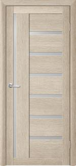 Межкомнатные двери Двери Bianca Альберо акация кремовая стекло Сатин