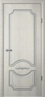 Межкомнатные двери Двери Леонардо Альберо ясень грей с патиной глухое