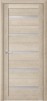 Межкомнатные двери Двері Flora Альберо акація кремова скло Сатін