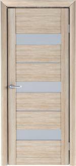 Межкомнатные двери Двери Praga Альберо акация кремовая стекло Сатин