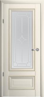 Межкомнатные двери Двери Версаль-1 Альберо ванильный стекло Галерея