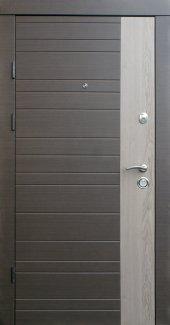 Двері Qdoors Преміум Альт-М венге сірий горизонт тм ззовні / дуб флорида зсередини