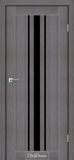 Межкомнатные двери Двери Arizona StilDoors дрим вуд стекло черное