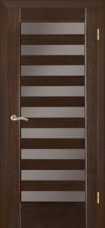 Межкомнатные двери Двери Астория НСД дуб графит со стеклом