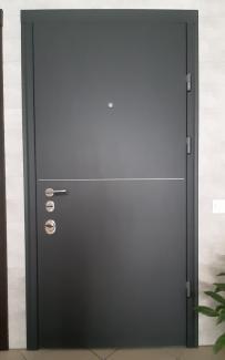 Входные двери Двері Страж Flash молдинг антрацит / вінтаж