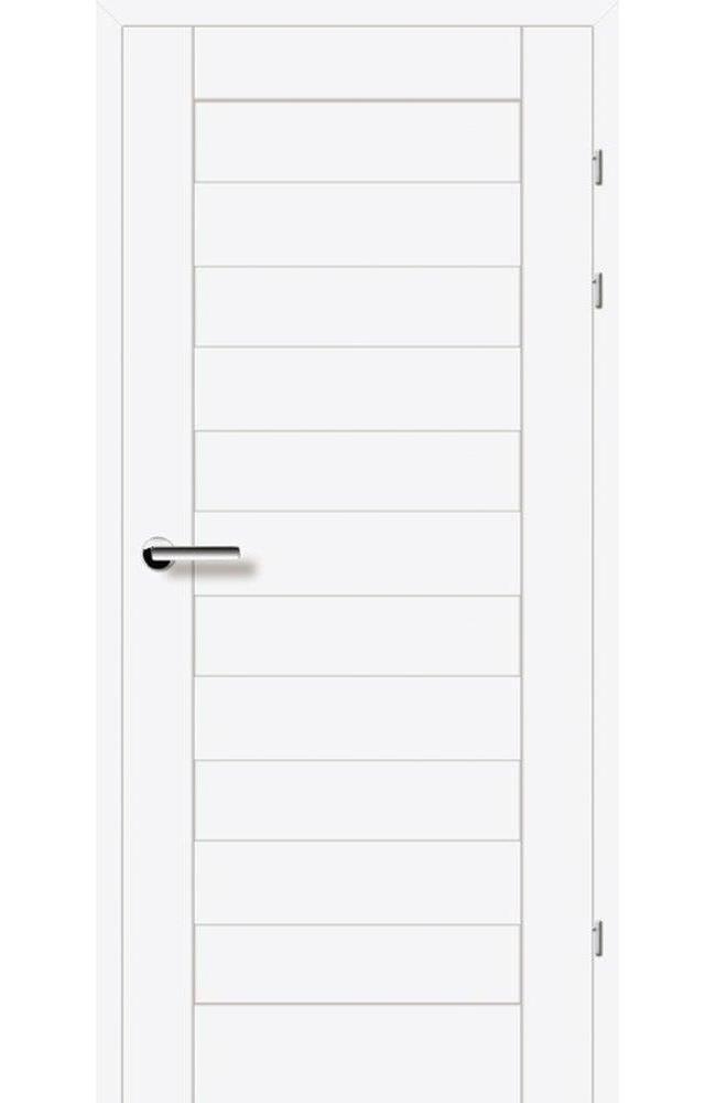 Двери 19.40 EuroDoors Брама белый премиум глухое