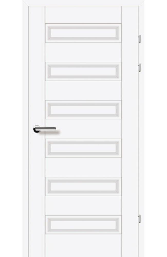 Двери 19.40 Брама белый гладкий глухое