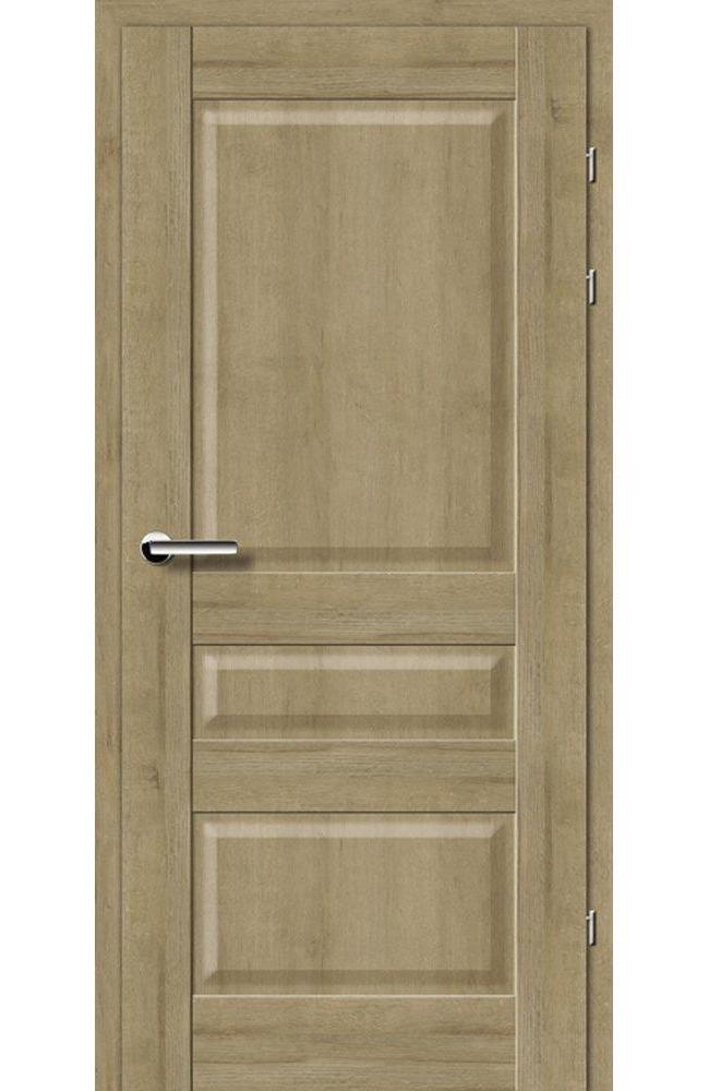 Двери 19.50 Брама дуб натуральный глухое