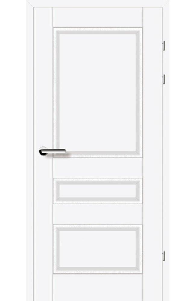 Двери 19.50 Брама белый премиум глухое