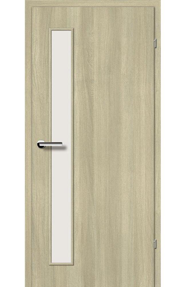 Двери Стандарт 2.2 Брама вяз скандинавский со стеклом
