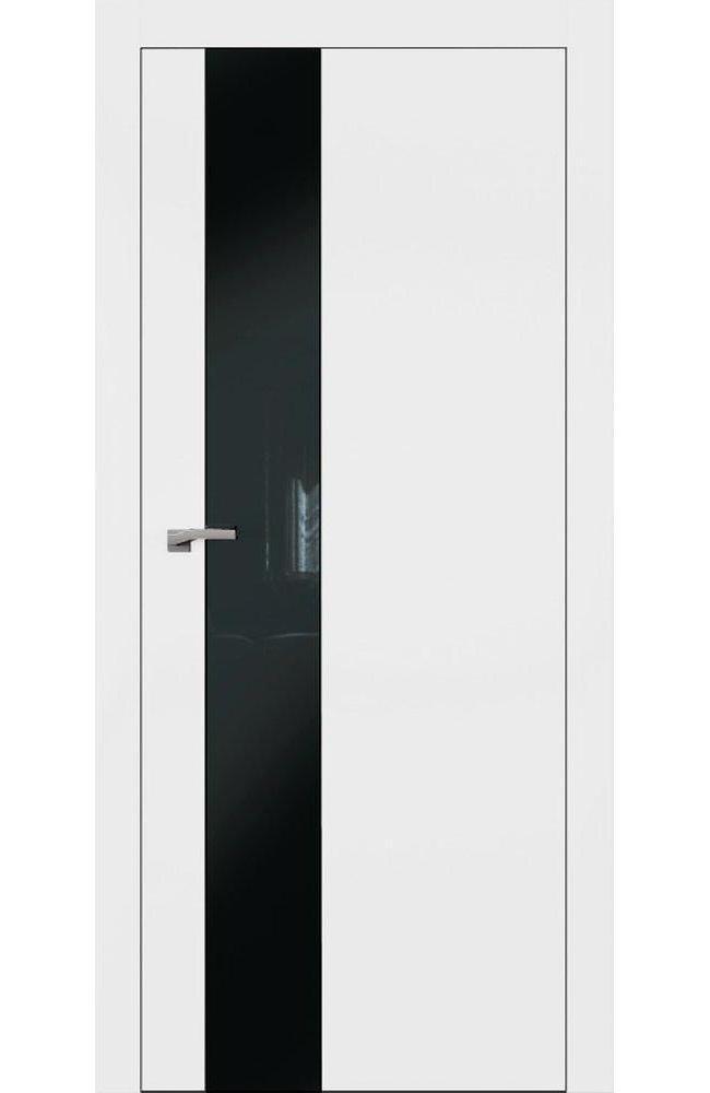Двери А3 Art Vision Омега белый мат стекло черное