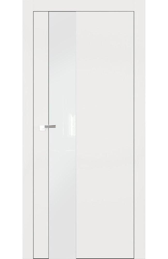 Двери А3 Art Vision Омега белый мат стекло белое