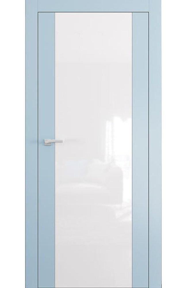 Двери А4 Art Vision Омега RAL стекло белое