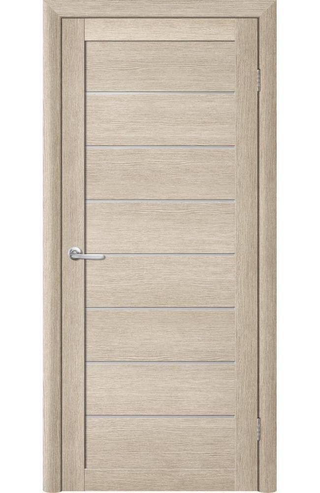 Двери Bella Альберо акация кремовая стекло белое