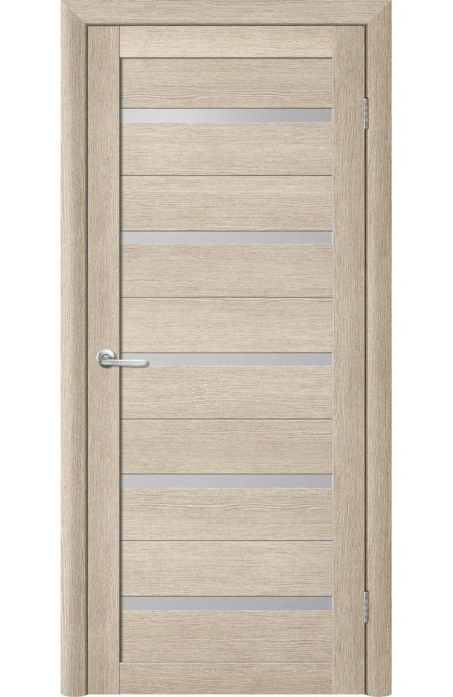 Двери Flora Альберо акация кремовая стекло белое