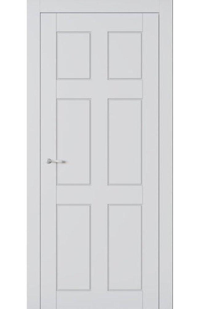 Двери Америка Allure Омега белый мат глухое