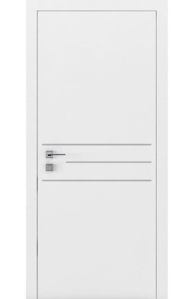 Двери Cortes Prima 3G Родос белая эмаль глухое - Межкомнатные двери — фото №1
