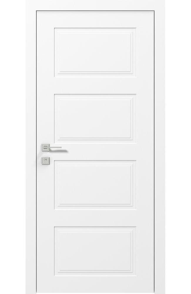 Двери Cortes Dolce Родос белая эмаль глухое - Межкомнатные двери — фото №1