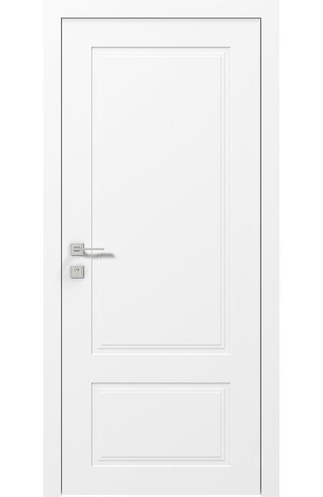 Двери Cortes Galant Родос белая эмаль глухое