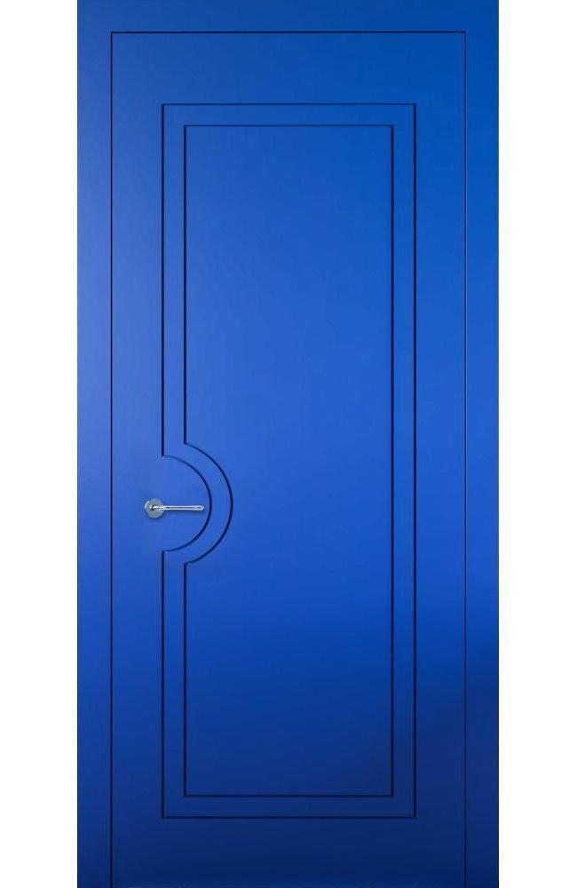 Двери Cortes Prima фрезеровка № 10 Родос покраска по ral глухое