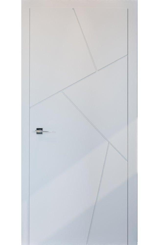 Двери Cortes Prima фрезеровка № 15 Родос покраска по ral глухое
