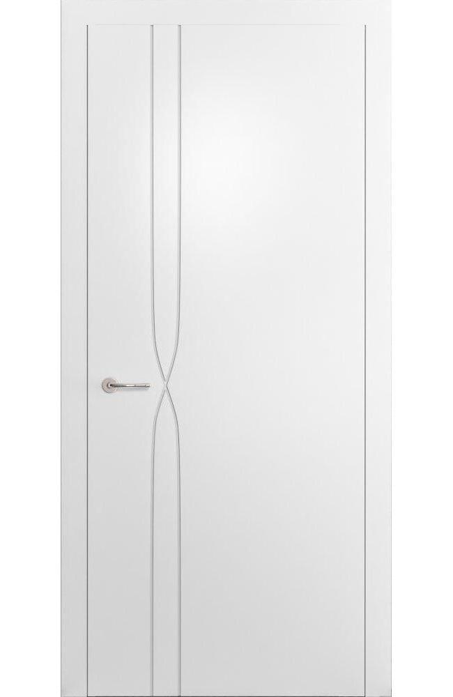 Двери Cortes Prima фрезеровка № 16 Родос покраска по ral глухое