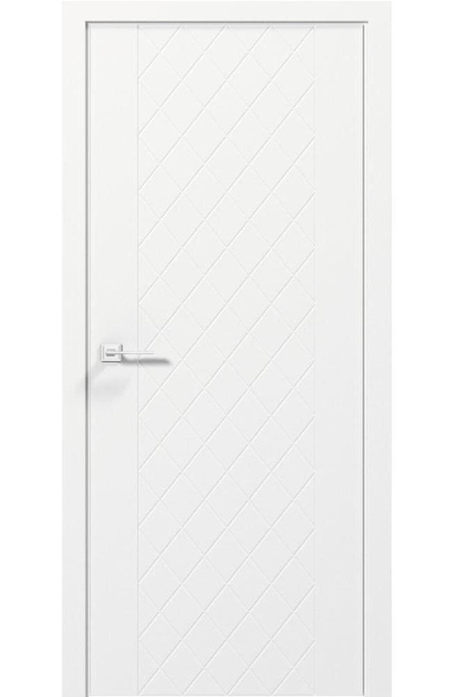 Двери Cortes Tango Родос белая эмаль глухое - Межкомнатные двери — фото №1