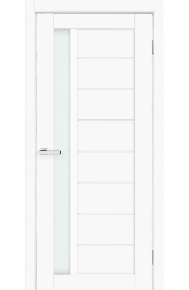 Двери КОРТЕКС DEKO-09 Омис белый мат стекло Сатин