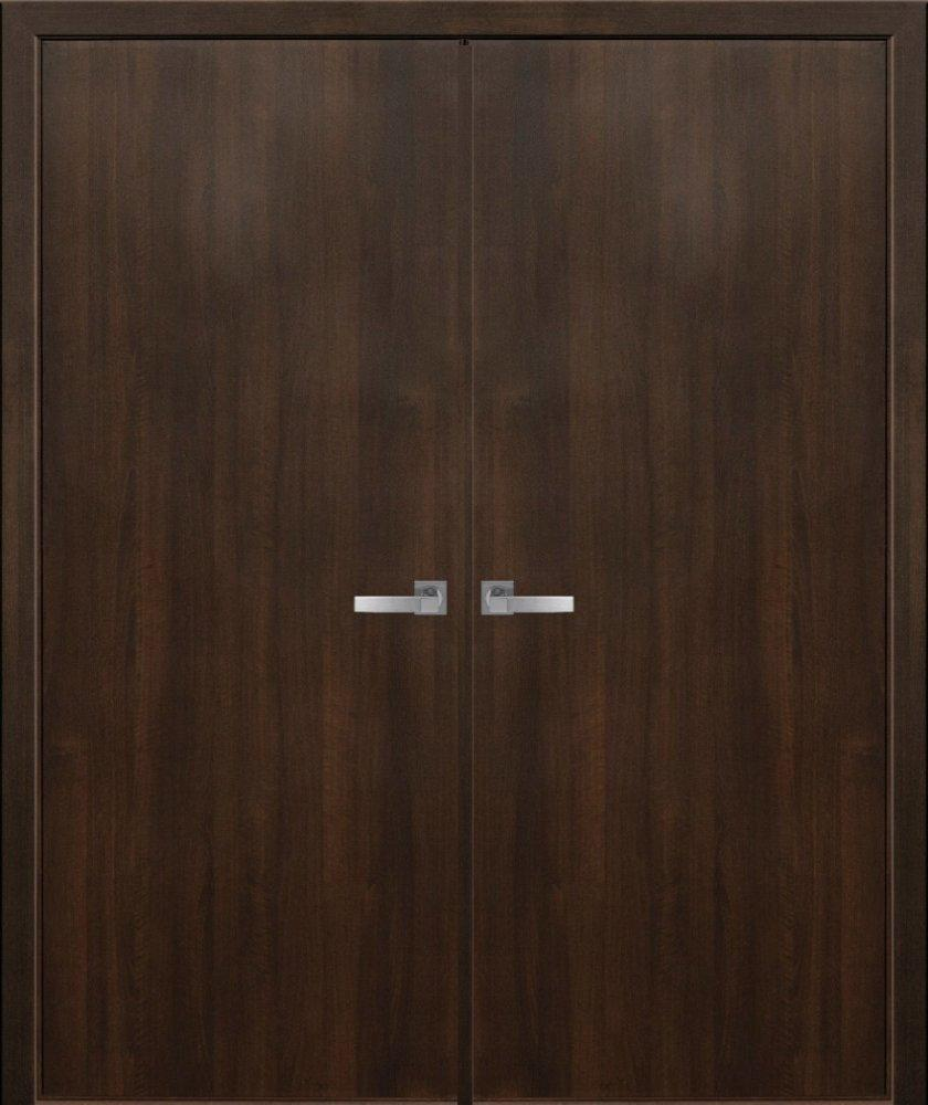 Двері Колорі модель А Стандарт Новий Стиль каштан делюкс глухе