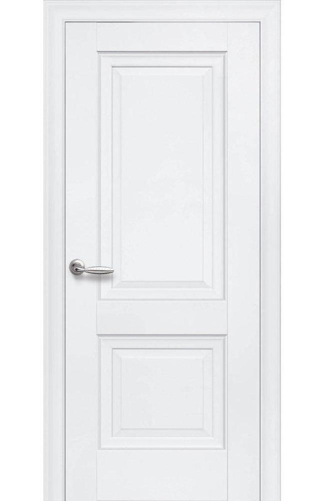 Двери Имидж Новый Стиль белый мат премиум глухое без молдинга - Межкомнатные двери — фото №1