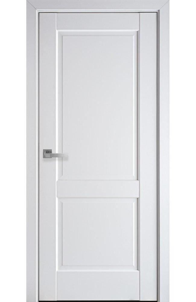 Двери Эпика Новый Стиль белый мат премиум глухое - Межкомнатные двери — фото №1