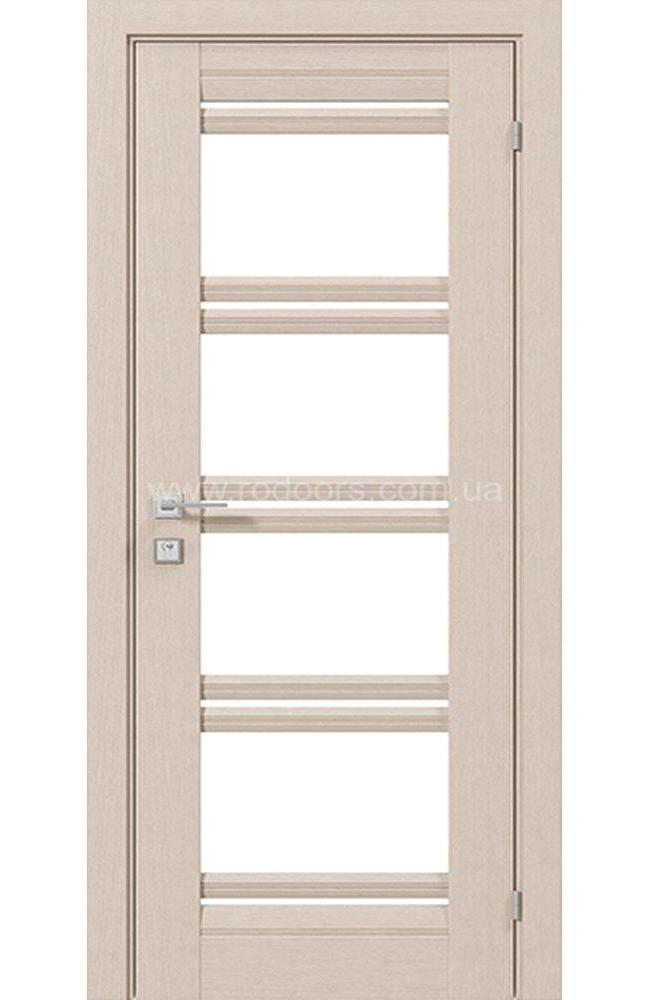 Двери Fresca Angela Родос беленый дуб со стеклом