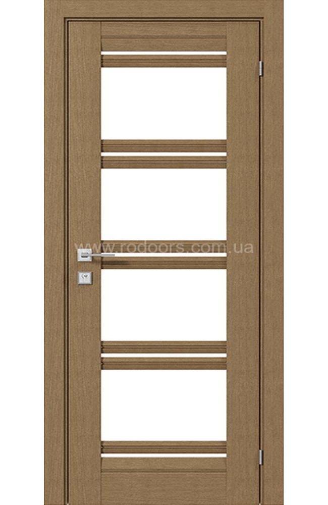 Двери Fresca Angela Родос дуб натуральный со стеклом
