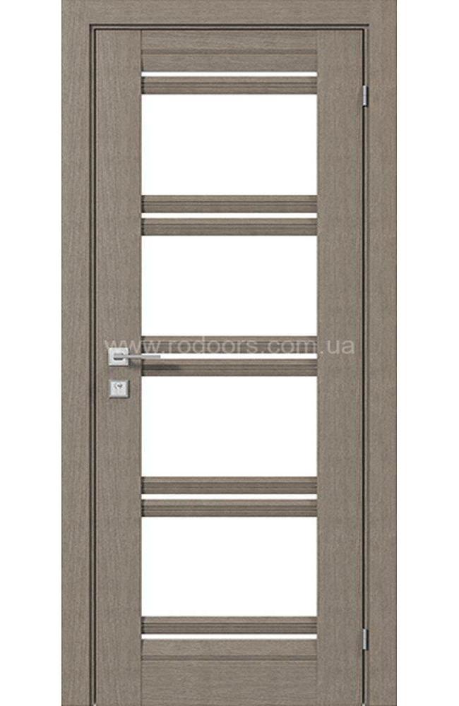 Двери Fresca Angela Родос серый дуб со стеклом