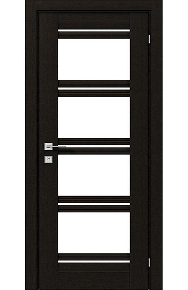 Двери Fresca Angela Родос венге шоколадный со стеклом - Межкомнатные двери — фото №1