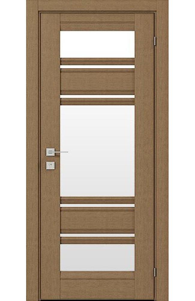 Двери Fresca Donna Родос дуб натуральный со стеклом