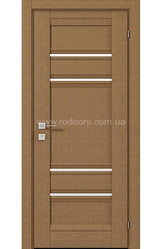 Двери Fresca Donna Родос меранти полустекло