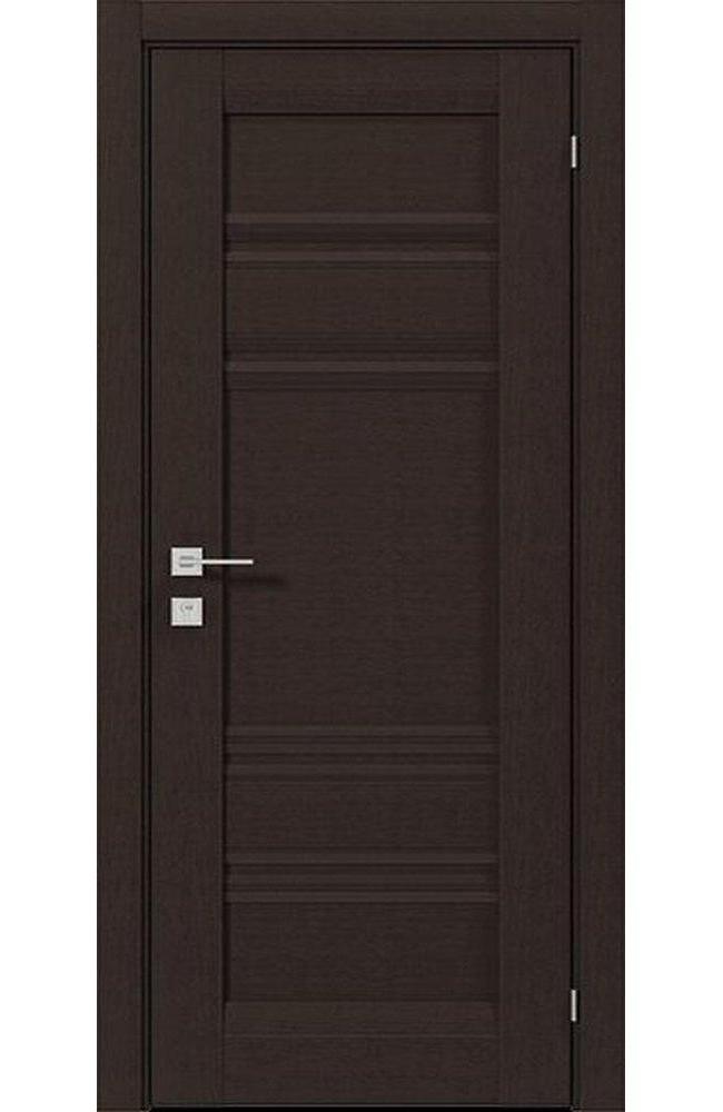Двери Fresca Donna Родос венге шоколадный глухое - Межкомнатные двери — фото №1