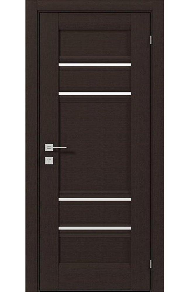 Двери Fresca Donna Родос венге шоколадный полустекло