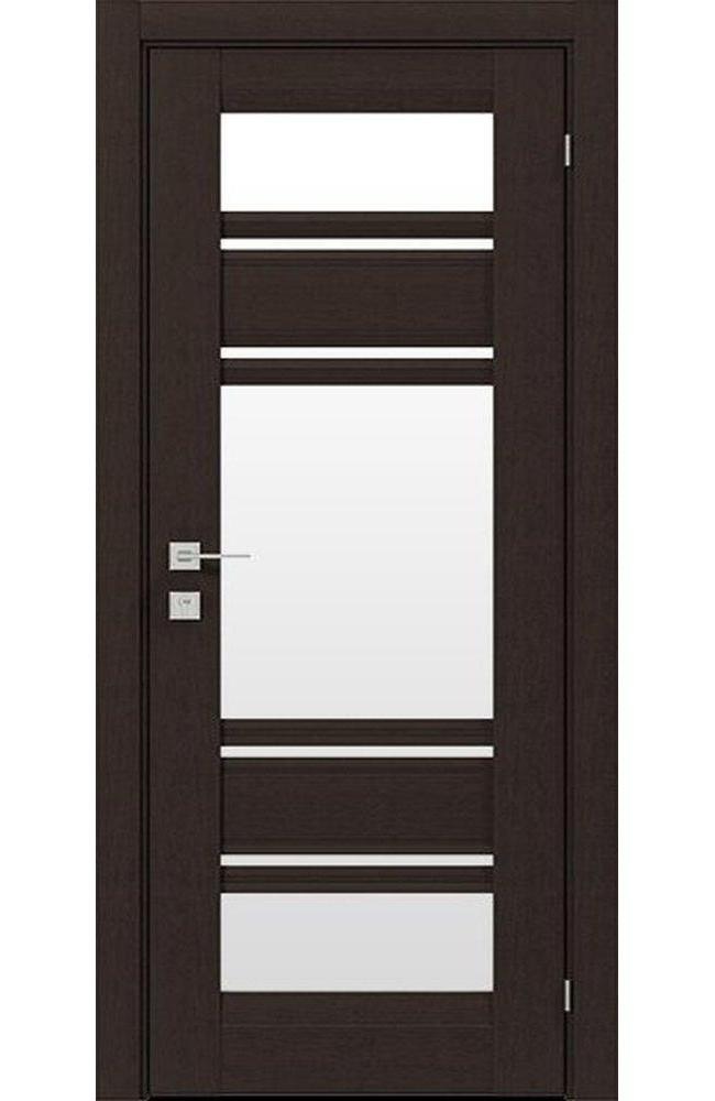 Двери Fresca Donna Родос венге шоколадный со стеклом