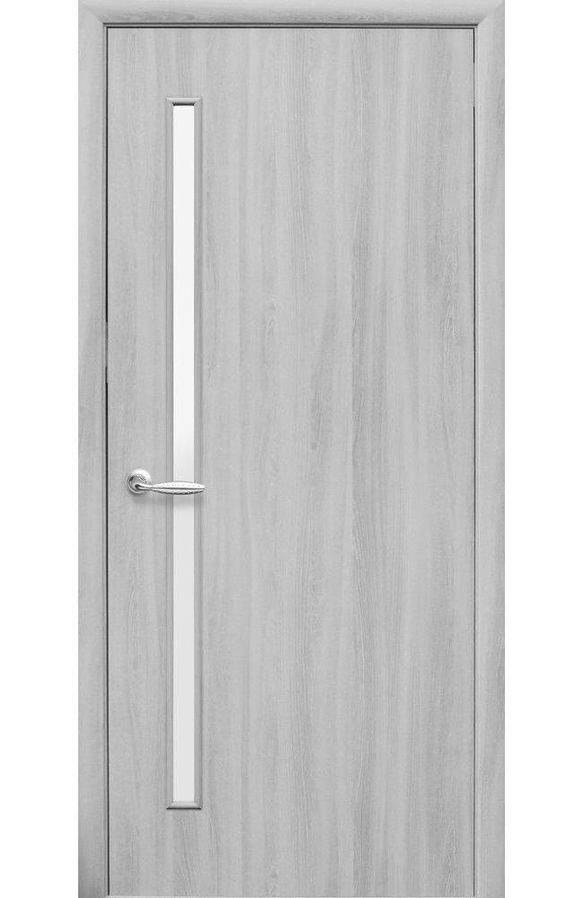 Двери Глория Новый Стиль ясень патина стекло Сатин - Межкомнатные двери — фото №1