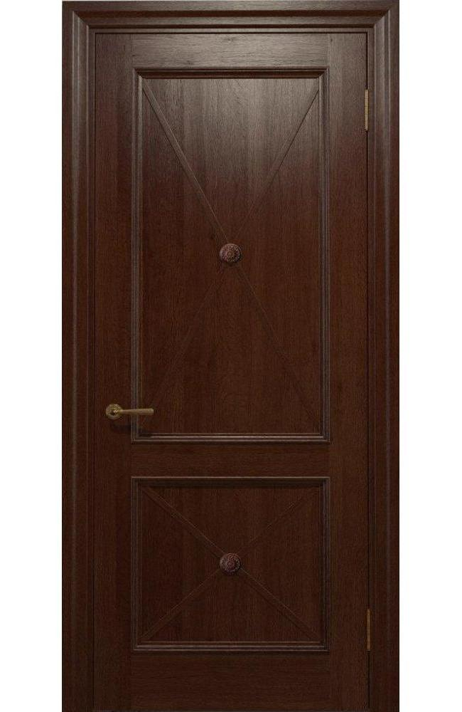 Двери Golden Cross C-11 Статус Дорс шоколадный глухое